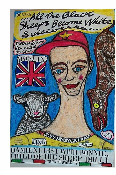DAMIEN-HIRST-WITH-BONNIE,-CHILD-OF-THE-SHEEP-DOLLY.jpg